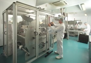 Protexin - billede fra produktionen